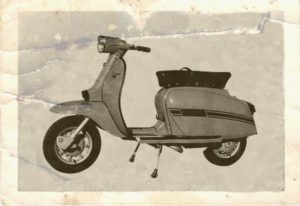 1969 Lambretta scooter Grand Prix DL