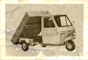 1970 Lambretta 600M car old photo