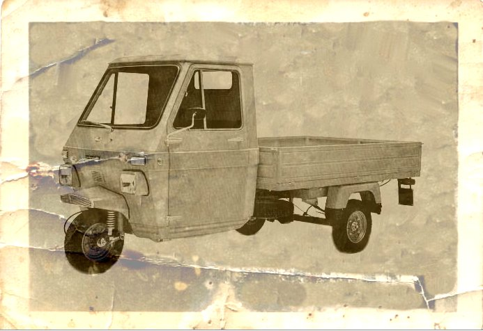 1969 Lambretta 550M car old photo